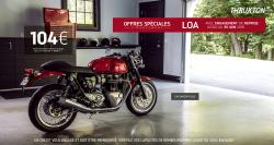 Les offres LOA Triumph se poursuivent !