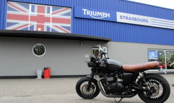 Triumph Bonneville Black Magic